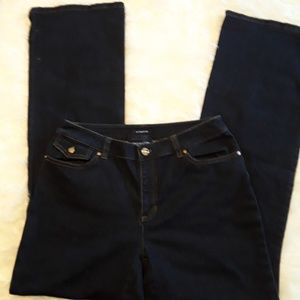 Jones NY Signature Blue jeans Sz 4